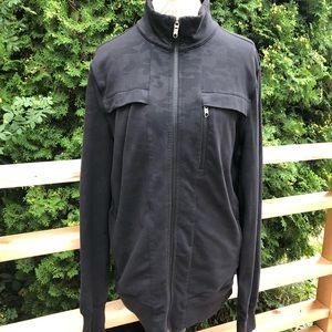 Lululemon Post Gravity Jacket In Lay Low Black